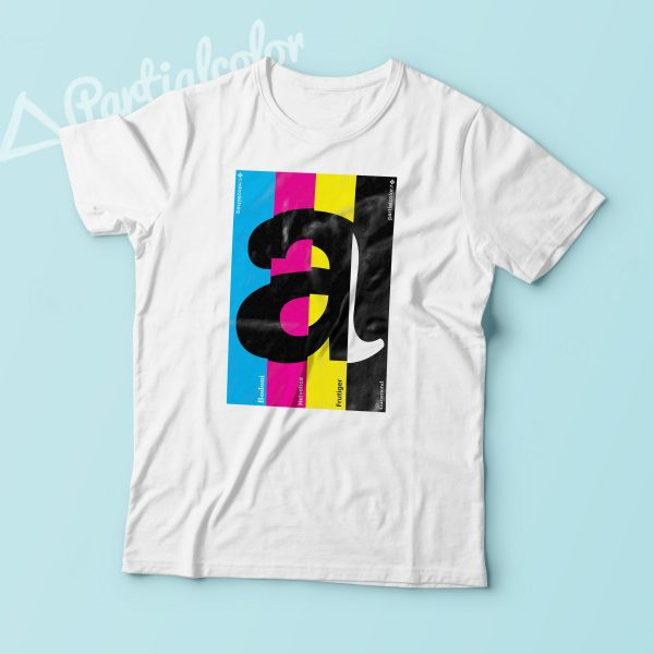 "Typo ""a"" shirt! New collection coming soon!"