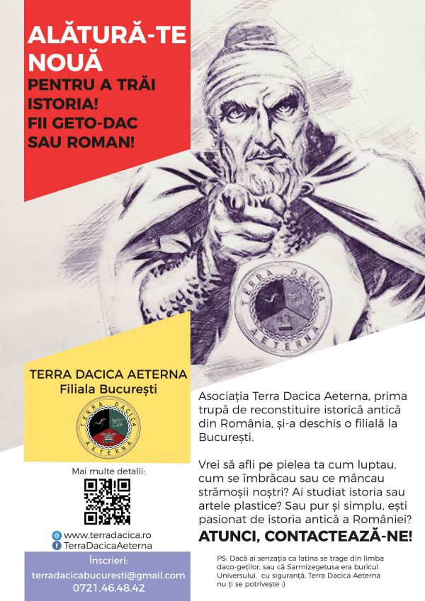 TERRA DACICA AETERNA – poter and illustration